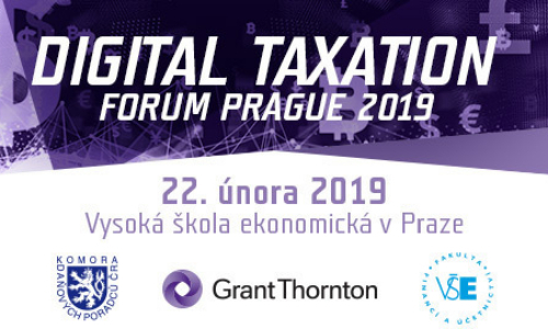 Digital Taxation Forum Prague 2019