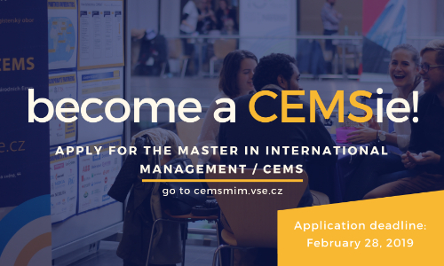 CEMS application deadline (1st intake)