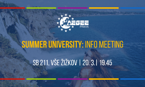 Summer University: Info meeting