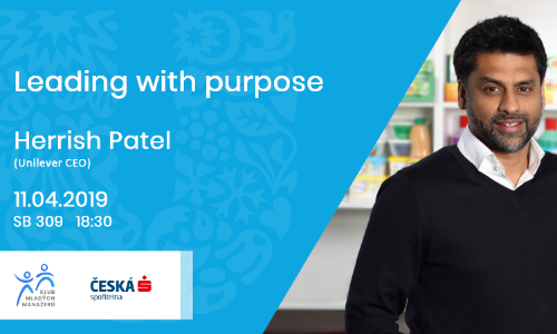 Leading with purpose (Unilever CEO - Herrish Patel)