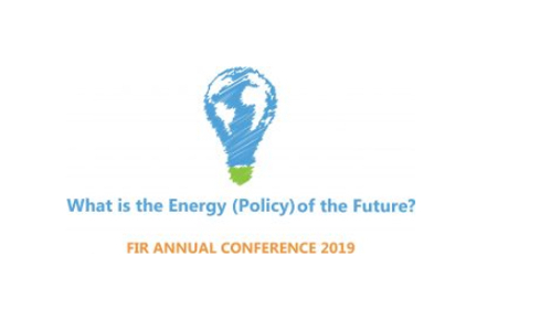 FIR Annual Conference 2019: What is the Energy (Policy) of the future?