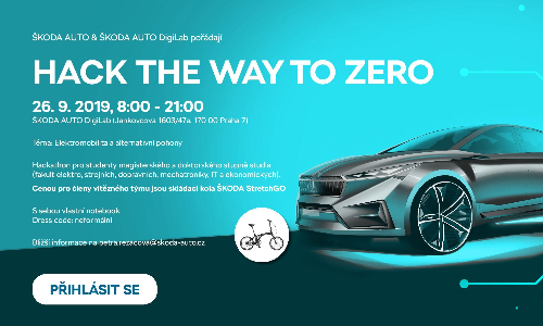 Škoda Auto DigiLab: Hack the Way to Zero
