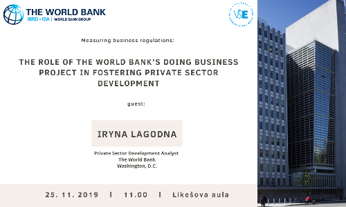 Measuring business regulations: The role of the World Bank's Doing Business project in fostering private sector development