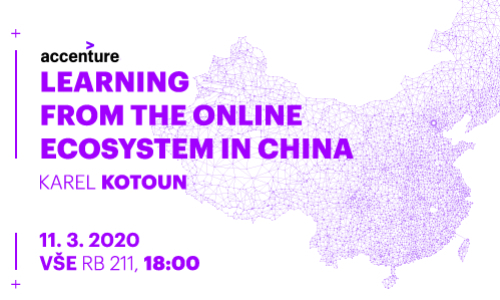 Absolventská středa: What we can learn from the online ecosystem in China